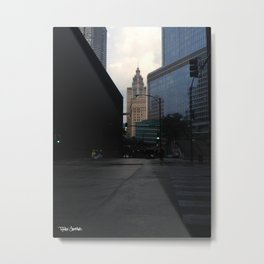 State and Kinzie Metal Print