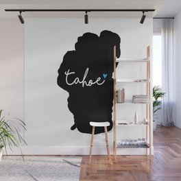 Black is the New Blue Wall Mural