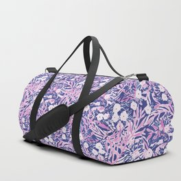 Tropical Daydream Blue Blush Duffle Bag