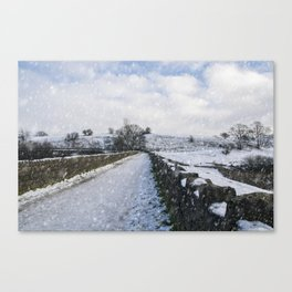 Hollingworth Country Park Canvas Print