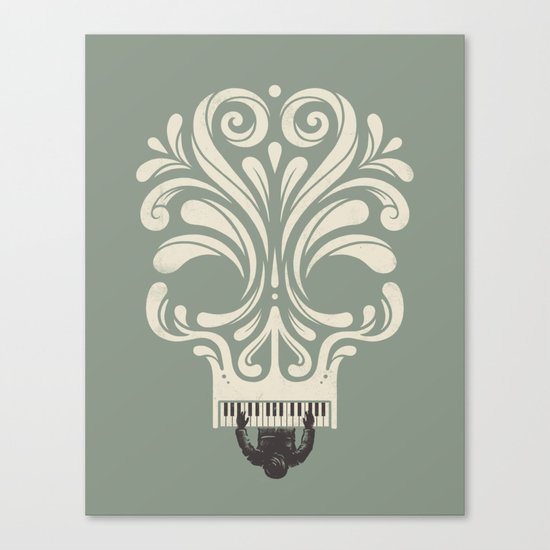 Killer Song Canvas Print