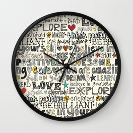 positively awesome Wall Clock