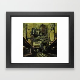 DISLOCATION Framed Art Print