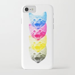 CMYKat iPhone Case