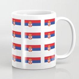 flag of Serbia 2-balkan,serbian,europe,yugoslavia, Pannonian,Belgrade,Novi Sad,nis,kragujevac Coffee Mug