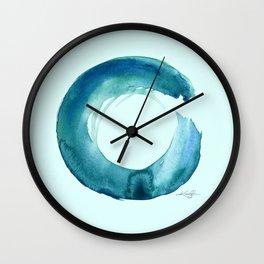 Serenity Enso No. 1 by Kathy Morton Stanion Wall Clock