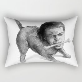 Marlon Brando Distracted By Bone In On The Waterfront Rectangular Pillow