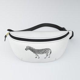 Zebra illustration Fanny Pack