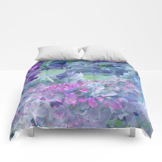 Lilac Bloom Comforters