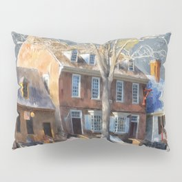 As Winter Melts Into Spring Pillow Sham
