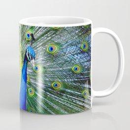 Flashy Peacock Coffee Mug