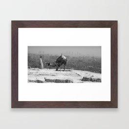 Ancient Modernity Framed Art Print