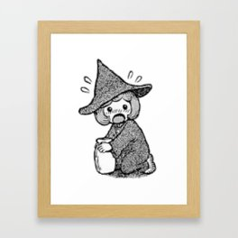 Schierke cute honey design Framed Art Print
