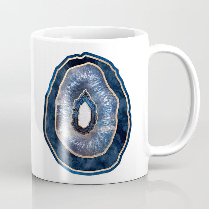 Agate - Blue Coffee Mug