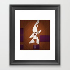 CHAM.AN.DROID Framed Art Print