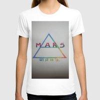 mars T-shirts featuring MARS. by TheArtOfFaithAsylum