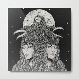 Aliēnus Metal Print