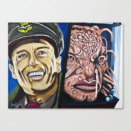 The Face of Boe, They Called Me Canvas Print