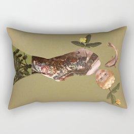 Old doll Rectangular Pillow