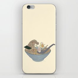THE GREAT SLURP iPhone Skin