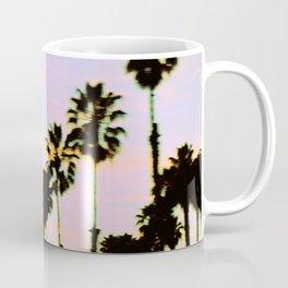 California Dreaming Palm Trees Sunset Coffee Mug