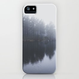 Morning blues iPhone Case