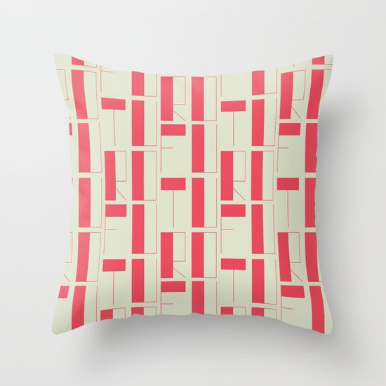FUTURO Throw Pillow