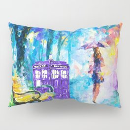 Little Tardis With The Girl Pillow Sham