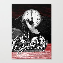 Two Minutes To Midnight Canvas Print