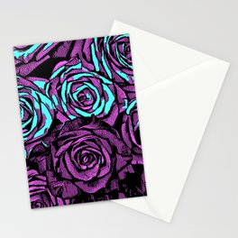Roses | 8 BIT Stationery Cards