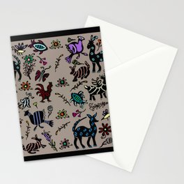Happy Animals Stationery Cards