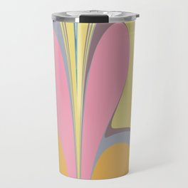 Abstract Pastel Travel Mug