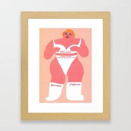 Calvin Framed Art Print