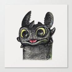 Dragon Toothless Canvas Print