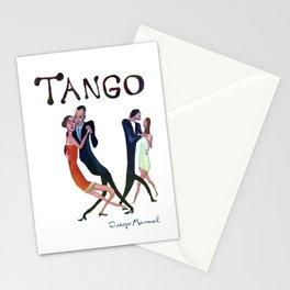 Tango de gala Stationery Cards
