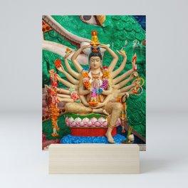 Buddhist Goddess Mini Art Print