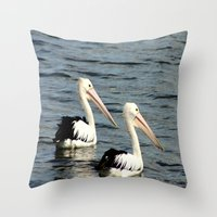 twins Throw Pillows featuring Twins by Chris' Landscape Images & Designs