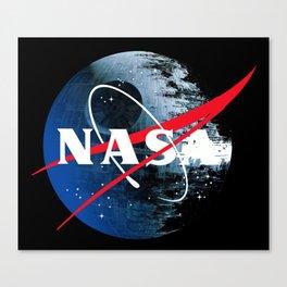 The Second NASA Death Star Canvas Print