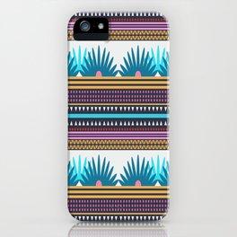 Multi Geometric Love iPhone Case