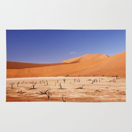 Amazing Deadvlei in Namibia Rug