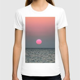 Sunset over the Pacific T-shirt