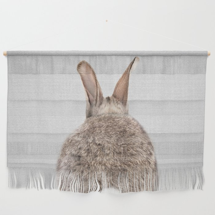 Rabbit Tail - Colorful Wall Hanging