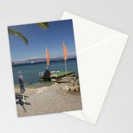 Ipsos beach Stationery Cards