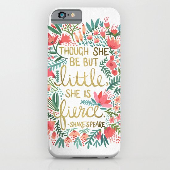 Little & Fierce iPhone & iPod Case