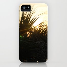 Low Country Sunset iPhone Case