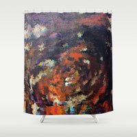 scream Shower Curtains featuring Scream by MonsterBrown