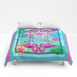 Flamingo Dance Comforters