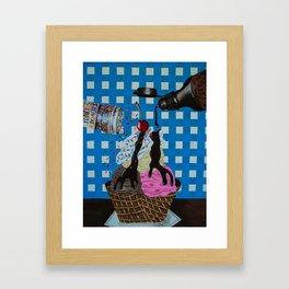 We all scream for Framed Art Print