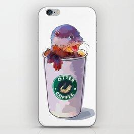 Otter Coffee iPhone Skin