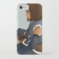 korra iPhone & iPod Cases featuring Korra by Azupcsan